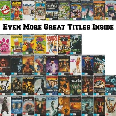 🎮 ●● UMD MOVIES FOR SONY PSP ●● HUGE Variety! Updated 18/10/17