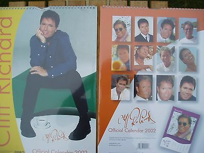 Cliff Richard Official Danilo Calendar Still Sealed 2002 Free P+P L@@K at This!