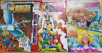Judge Anderson - Limited Edition - Issues 4, 5, 6 - Very Good Condition