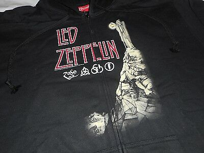 LED ZEPPELIN Houses Of The Holy XXL Zip Up Hoodie Hooded Sweatshirt Jacket 2XL