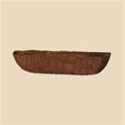 Bosmere 24 Inch Or 48 Inch Window Basket Replacement Liner Brown With AquaSav