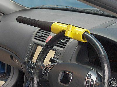 Car van steering Wheel lock security baseball bat style keys  VISUAL DETERENT