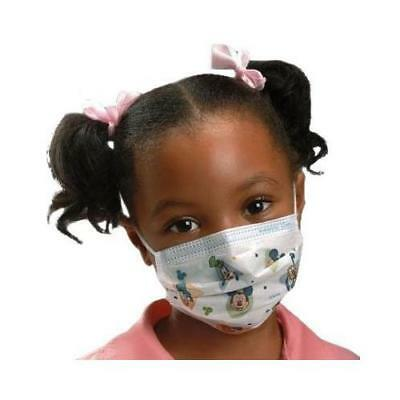 Kimberly Clark- Disney Child Face Mask With Earloop- 75/Bx(47127)