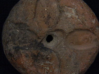 Ancient Teracotta Seal Bactrian 300 BC #TR127