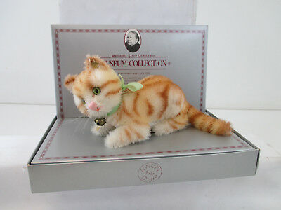 "Steiff. ""Museum-Collection"". 0104/10 Tabby, Replica 1928 10 cm 	Mohair ST621"
