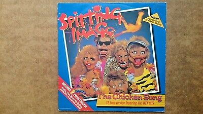 Spitting Image ....The Chicken Song 12-inch LP