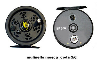 Fly Reel Mulinello Mosca  Line 5-6  Lineaeffe Ef 560