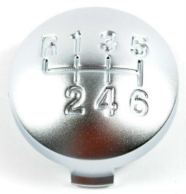 Alfa Romeo 159 Brera Spider 6 Speed Gear Knob Cap Silver New Genuine 55344557