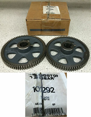 Boston Gear ND72 10292 Spur Gear Lot of 2