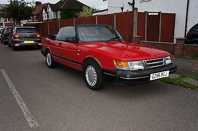 INVESTMENT !!! Only 39000miles !!! 1990 SAAB 900 I 16V AUTOMATIC  CONVE !!!