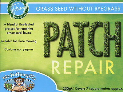Mr Fothergills Patch Repair without ryegrass Grass Seed 7 sqm