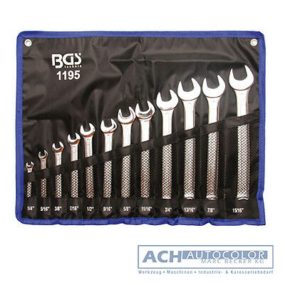 BGS 1195 - Spanner Set Ring Spanner inch wrench 12 Piece