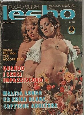 Rivista Erotica Vintage Erotic Magazine (Possible Lesbian Lesbo Interest)