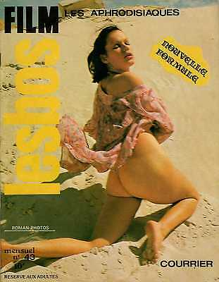 Rivista Vintage Fotoromanzo Erotic Magazine Photos Roman (French) Lesbos Film