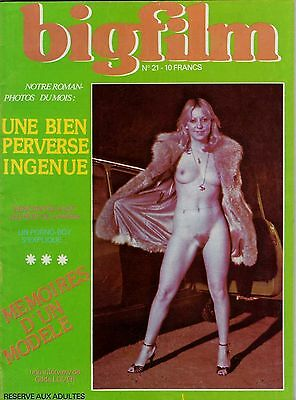 Rivista Vintage Fotoromanzo Erotic Magazine Photos Roman (French) Lesbo Big Film