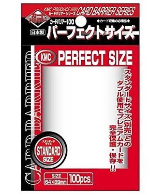 KMC Trading Card Card Sleeves 100 Sheet Card Barrier 100 from Japan F/S