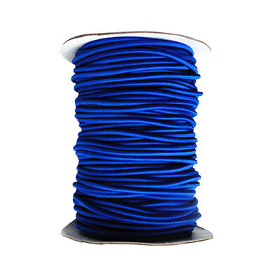 4mm 1m Blue Elastic Bungee Rope Shock Cord Tie Down for Boat/Trailer Covers