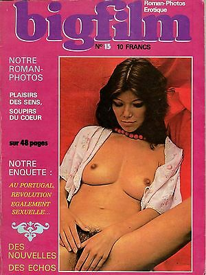 Rivista Vintage Fotoromanzo Erotic Magazine Lesbo Photos Roman (French) Big Film