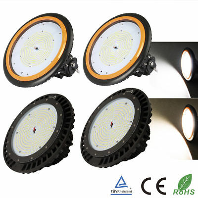 100W 150W 200W LED UFO Hallenbeleuchtung High bay Industrielampe Strahler IP65