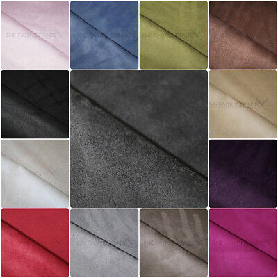 Premium Faux Suede Microfiber Upholstery Curtain Car Interior Headline Fabric