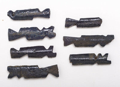 Ancient Egyptian Faience Amulets late Period c.620 BC.