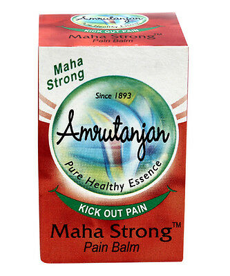 4 x 9gm-Amrutanjan Herbal Maha Balm-Natural Balm-Fast Shipping Lowest Price