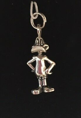 Daffy Duck LIMITED EDITION Warner Bros Looney Tunes Sterling Silver Charm NEW