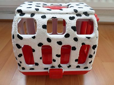 101 Dalmatians Fur Covered Dog Carry Case
