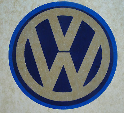 Vintage 70s VW Volkswagon Logo Emblem Shirt Hat Iron On Transfers Automobillia