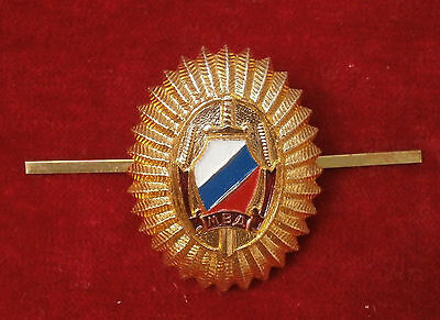 Russian cockarde of the Ministry of Internal Affairs 1991-1993