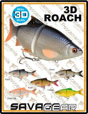 "Savage Gear ""3D ROACH"" 18cm 80gr spinning lure pike"