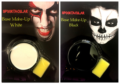 Black or White Face Paint Halloween Costume Party Base Stage Make Up