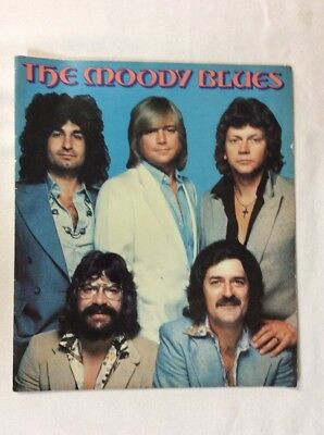 The Moody Blues Biography Vintage Photo Book (Pamphlet)-Good