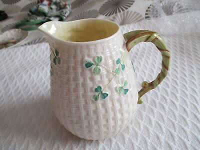 Milk/water Jug Shamrock By Belleek