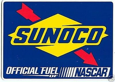 Nascar Sunoco Race Fuel Of Nascar Stickers New Set Of 10...cool...