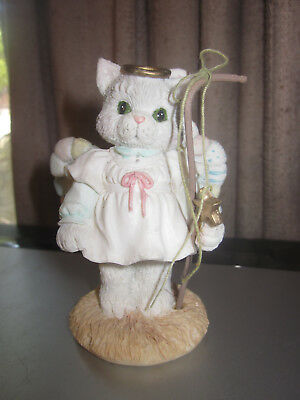 1993 Calico Kittens A Purr-fect Angel From Above ENESCO 628468 Priscilla Hillman