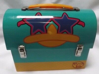 Disney Phineas and Ferb Agent P Metal Lunch Box Container