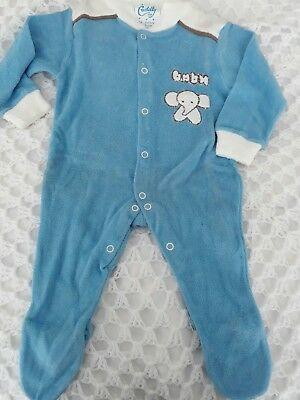 vintage child's sleep suit