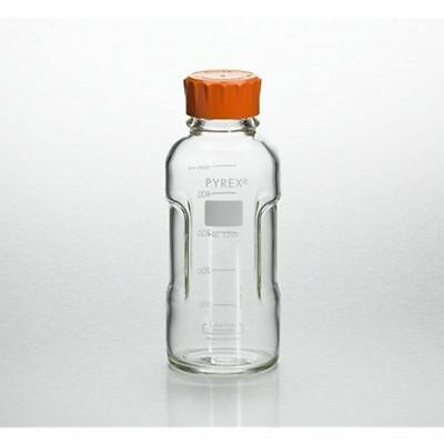 Pyrex Slimline Media Bottle Easy Pour Corning 1000ML Glass (Single)