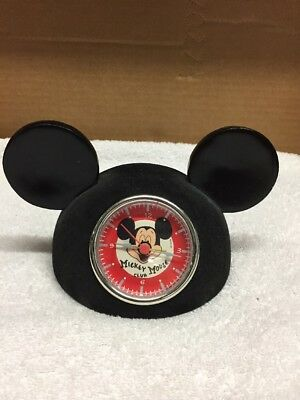 Disney Mickey Mouse Club Hat/Clock