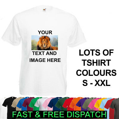 Personalised T-Shirt Custom Image / Text Printed Stag Hen Do Party Any Occasion