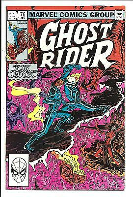 GHOST RIDER (Vol.1) # 76 (JAN 1983), NM