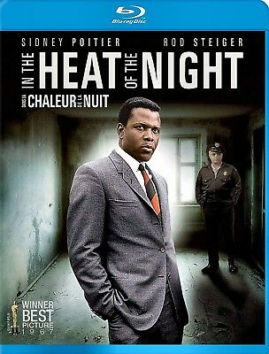 NEW  BLU RAY - IN THE HEAT OF THE NIGHT - Sidney Poitier, Rod Steiger, Warren Oa