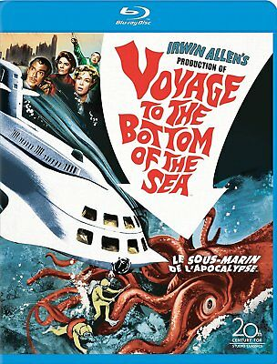 New  Blu Ray - Voyage To The Bottom Of The Sea - Barbara Eden , Peter Lorre