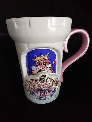 Mary Engelbreit Queen Of Everything Coffee Mug Cup Castle Huge 28oz Teleflora