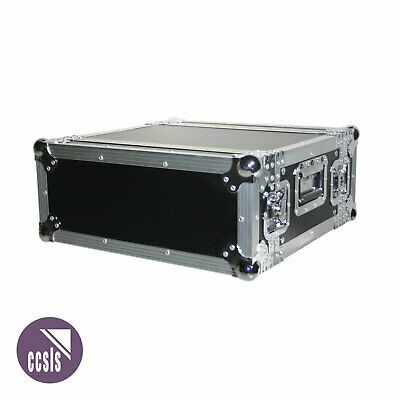 4Ru Rack Road Case With Front And Rear Lids