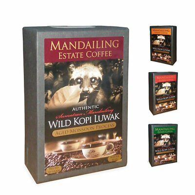 Mandailing Estate Tasty Coffee Wild Kopi Luwak Aged Monsoon Process 50g