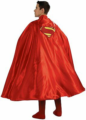 "Adult Super Hero Superman Red 50"" Cape Costume Accessory Ru888202"