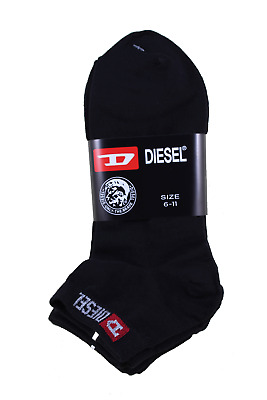 4 Pairs Diesel Thin Socks 2-8 and 6-11 MADE IN KOREA