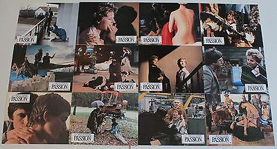 Isabelle Huppert Passion French lobby card set 12 Jean-Luc Godard